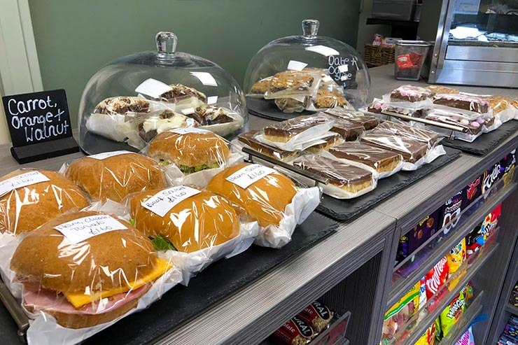 Freshly Made Sandwiches and Homemade Cakes to Takeaway