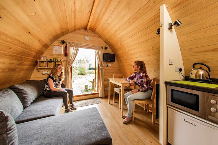 Luxury Camping Cabins