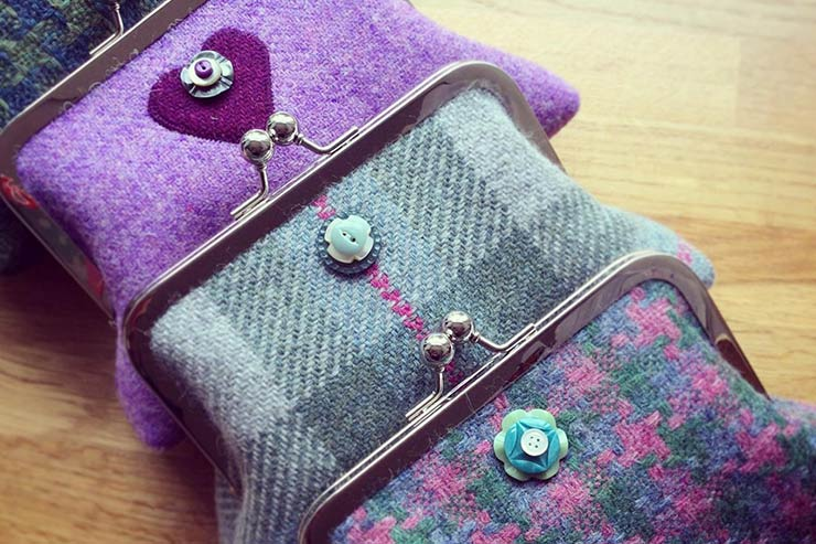 Purses by Emma Redfern